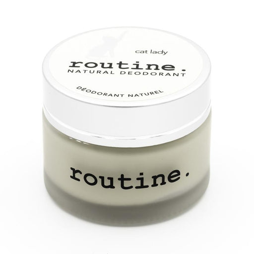 Buy Routine Cream Natural Deodorant Cat Lady at Pure Feast