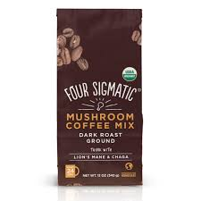 Buy Four Sigmatic Ground Mushroom Coffee with Lion's Mane, Bag at Pure Feast