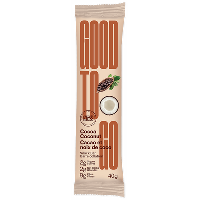 Buy Good To Go Keto Bar Cocoa Coconut at Pure Feast