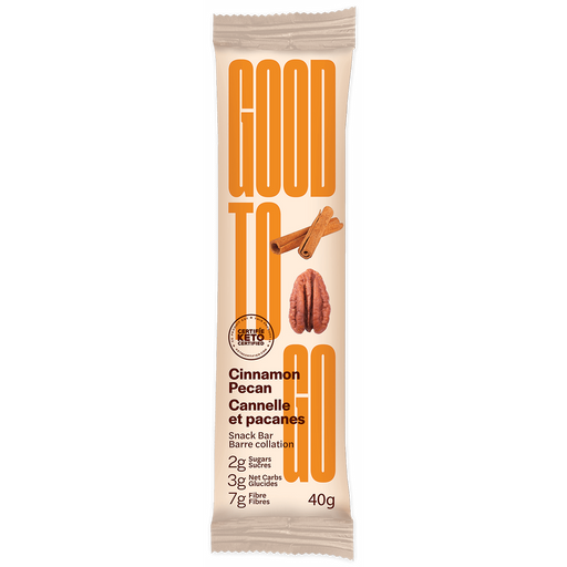 Buy Good To Go Keto Bar Cinnamon Pecan at Pure Feast