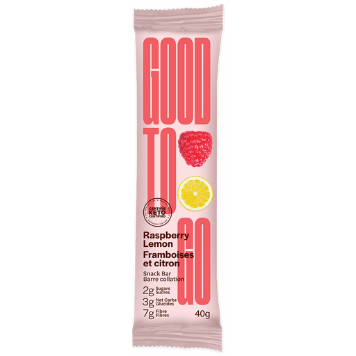 Buy Good To Go Keto Bar Raspberry Lemon at Pure Feast