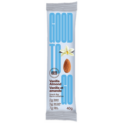 Buy Good To Go Keto Bar Vanilla Almond at Pure Feast