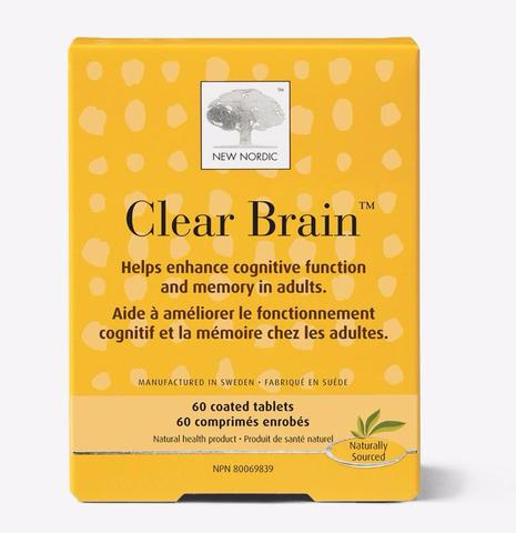 Buy New Nordic Clear Brain at Pure Feast