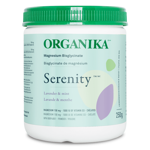 Buy Organika Serenity Magneium Bisglycinate Lavender & Mint at Pure Feast