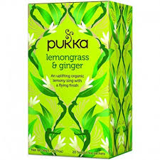 Buy Pukka Organic Lemongrass and Ginger Tea at Pure Feast