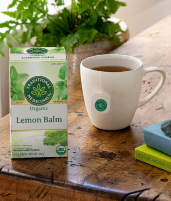 Buy Traditional Medicinals Organic Lemon Balm Tea at Pure Feast