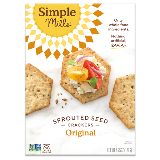 Simple Mills Original Sprouted Crackers