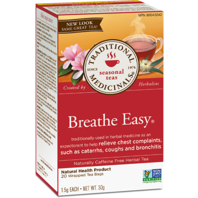 Buy Traditional Medicinals Organic Breathe Easy Tea at Pure Feast