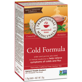 Buy Traditional Medicinals Organic Cold Formula at Pure Feast