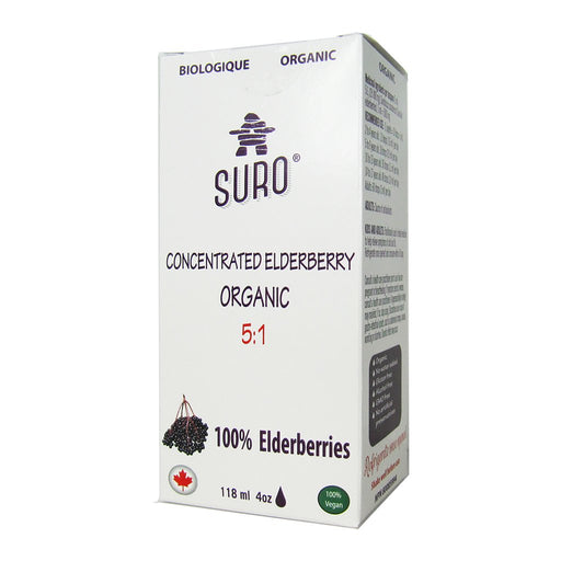 Buy Suro Organic Elderberry Concentrate 5:1 at Pure Feast