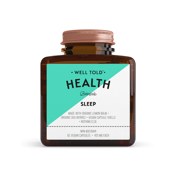 Buy Well Told Health Sleep Booster at Pure Feast