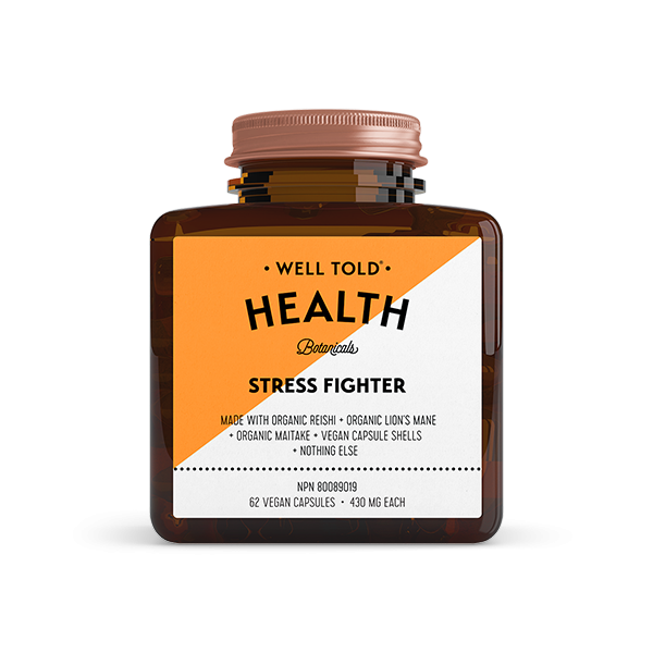 Buy Well Told Health Stress Fighter at Pure Feast