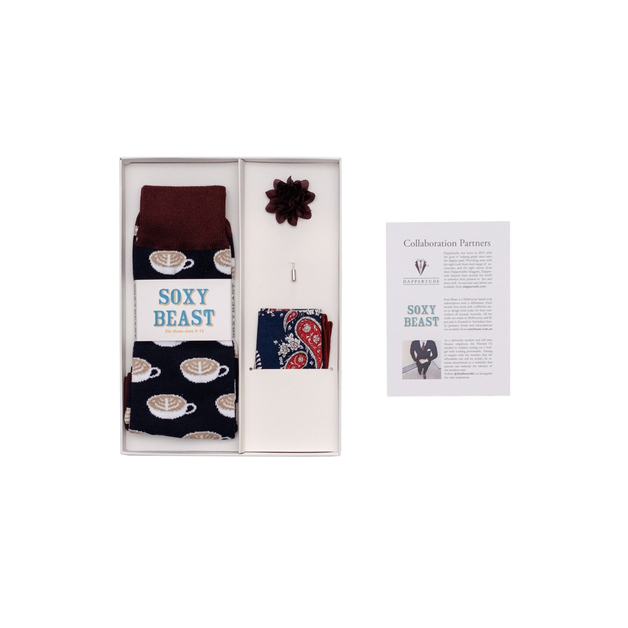 The Filtered Fit Limited Edition Collection, Limited edition box set - Dappertude