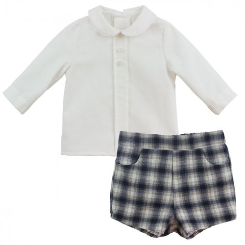 Tommy - Doodles and Daisy Chains - Spanish Baby Clothes - Classic Baby Boutique