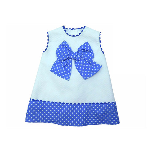 Bluebell Spanish Baby Dress - Doodles and Daisy Chains - Spanish Baby Clothes - Classic Baby Boutique