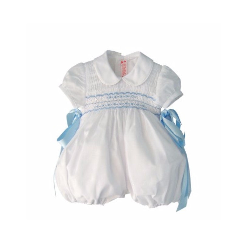 George Romper - Doodles and Daisy Chains - Spanish Baby Clothes - Classic Baby Boutique