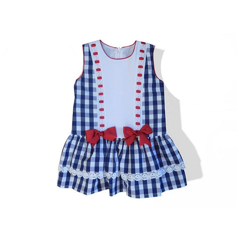 Traditional Spanish Baby Molly Dress - Doodles and Daisy Chains - Spanish Baby Clothes - Classic Baby Boutique