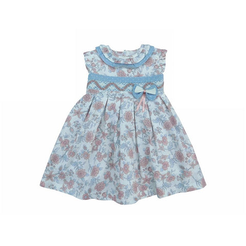 Olivia Spanish Baby Girls Dress - Doodles and Daisy Chains - Spanish Baby Clothes - Classic Baby Boutique