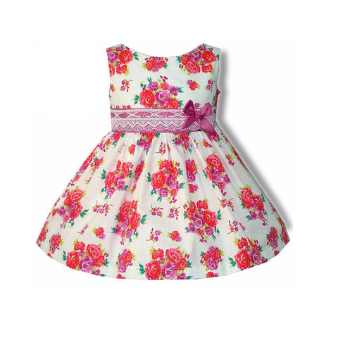 Petals Spanish Baby Girls Dress - Doodles and Daisy Chains - Spanish Baby Clothes - Classic Baby Boutique