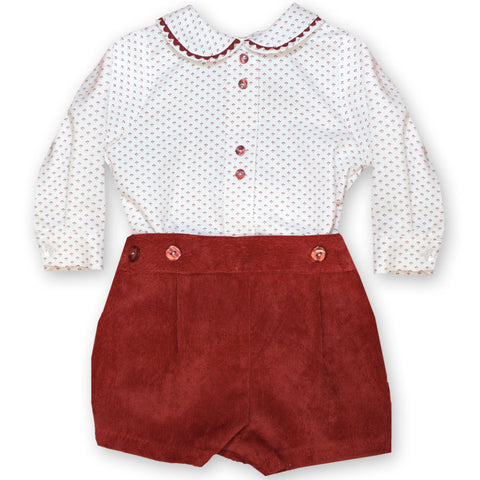 Traditional Spanish Boys Rompers – Doodles and Daisy