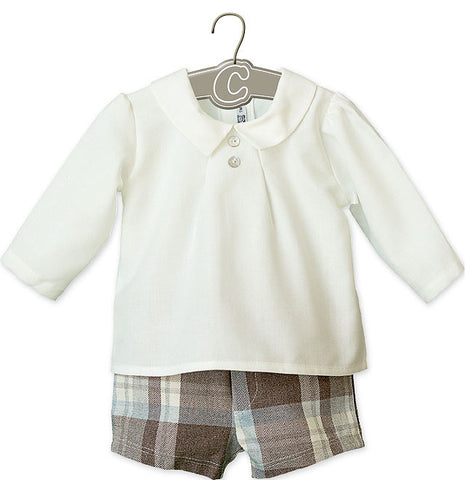 Stanley Traditional Spanish Boys Set - Doodles and Daisy Chains - Spanish Baby Clothes - Classic Baby Boutique