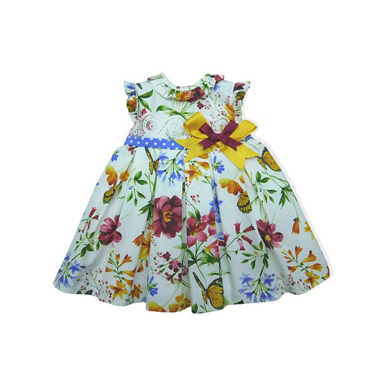 Tiger-Lilly Dress - Doodles and Daisy Chains - Spanish Baby Clothes - Classic Baby Boutique