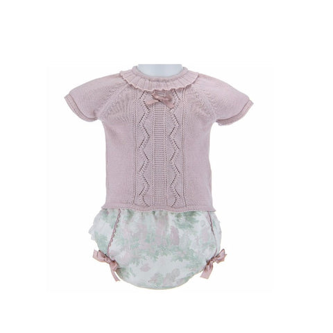 Beatrice Summer Set - Doodles and Daisy Chains - Spanish Baby Clothes - Classic Baby Boutique