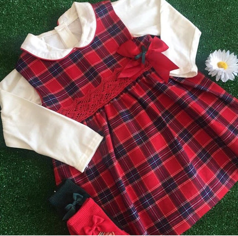 Carla - Doodles and Daisy Chains - Spanish Baby Clothes - Classic Baby Boutique