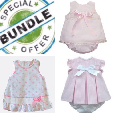 Copy of Bundle Girls 18 Months - Doodles and Daisy Chains - Spanish Baby Clothes - Classic Baby Boutique