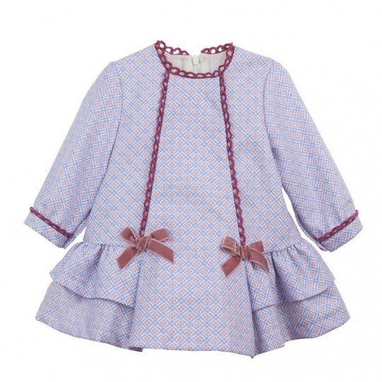Della Dress - Doodles and Daisy Chains - Spanish Baby Clothes - Classic Baby Boutique