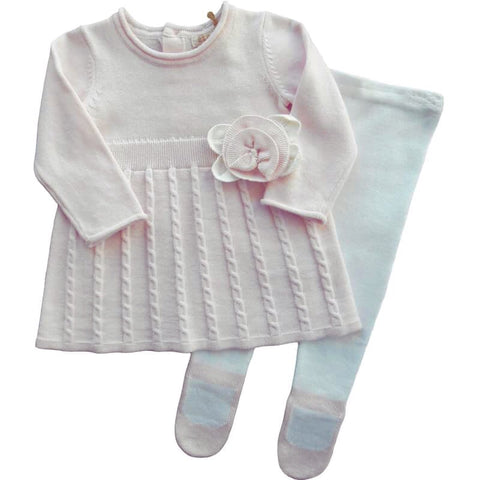 Elsie Knit - Doodles and Daisy Chains - Spanish Baby Clothes - Classic Baby Boutique