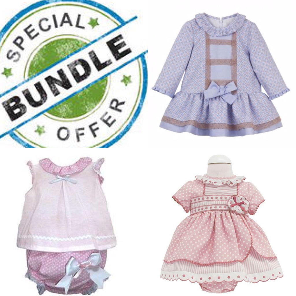 Copy of Girls Bundle 24 Months - Doodles and Daisy Chains - Spanish Baby Clothes - Classic Baby Boutique