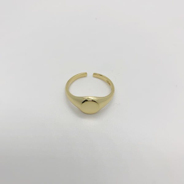 Adjustable Signet Ring
