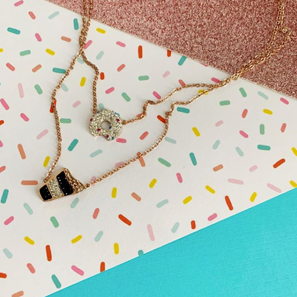 Donut You Want  A Latte Necklace