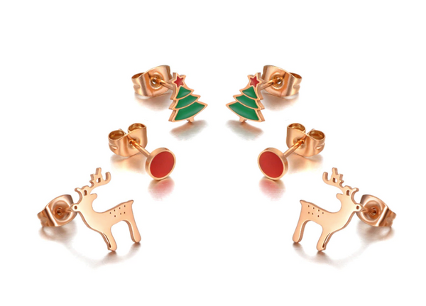 christmas earring bundle