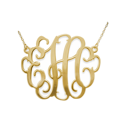 The Favorite Monogram - Gold