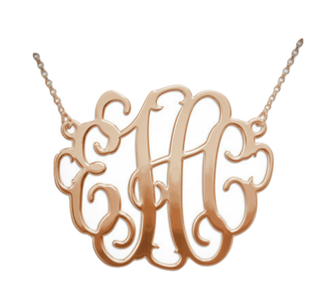 The Favorite Monogram - Rose Gold