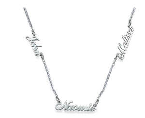 Multi Name Necklace