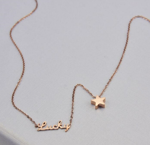 Lucky Stars Dainty Necklace