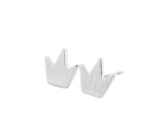 Dainty Royalty Crown Earrings
