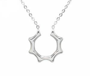 Half Sun Clavicle Necklace