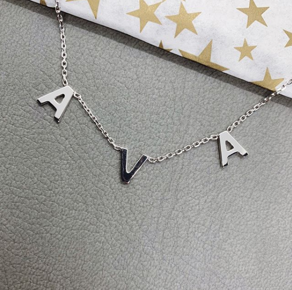 Hanging Name Necklace