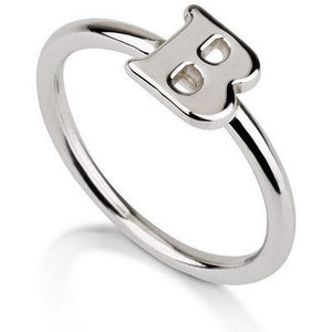 Initial Ring - .925 Sterling Silver
