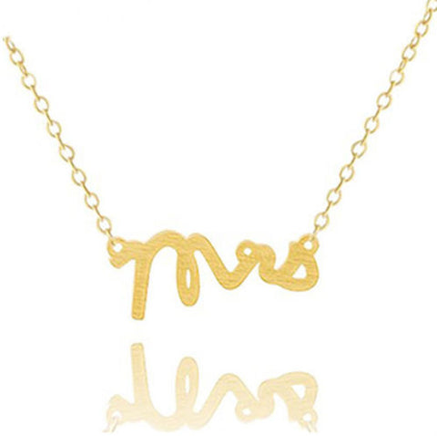 Dainty Mrs. Necklace