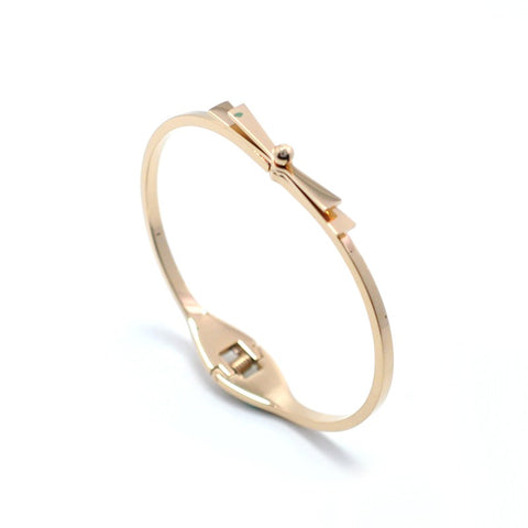 Rose Gold Knot the Bow Bracelet