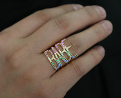 Rainbow BABE Knockout Ring