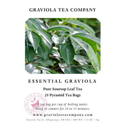 Essential Graviola - 100% Soursop