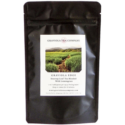 Graviola Edge - Soursop Tea Blended With Lemongrass - GraviolaTeaCompany - 1