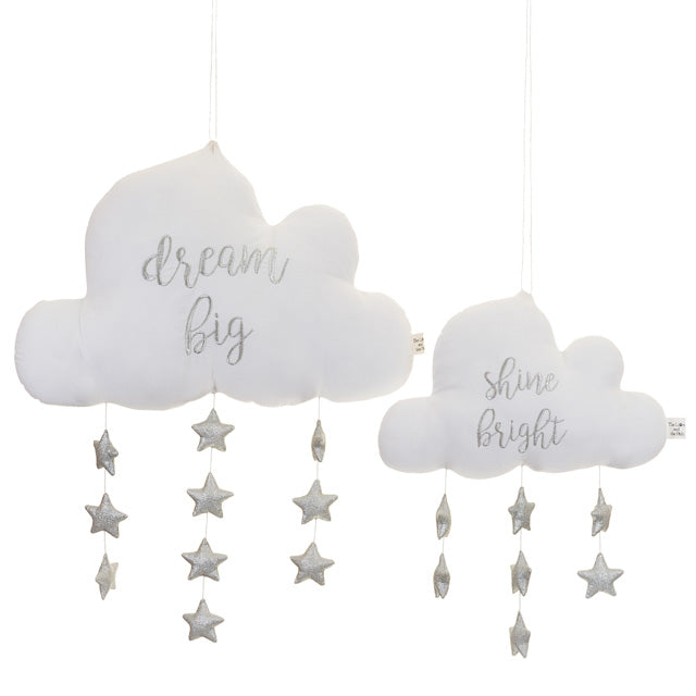 A Sky Full Of Stars Nursery Mobile Small Cloud
