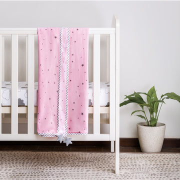 Dream Big Pink Dohar Blanket